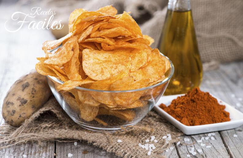 Chips de tortilla de canela al horno