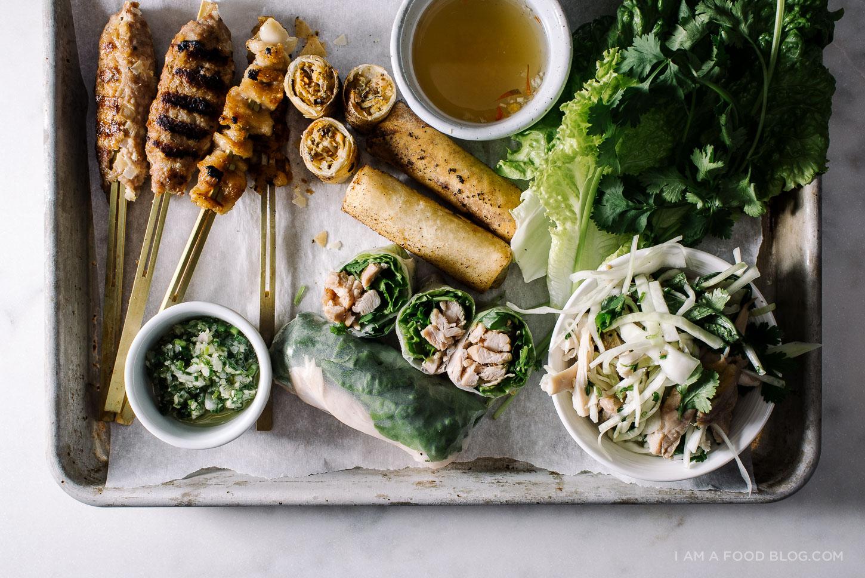Fiesta vietnamita de acción de gracias con pavo de cinco opciones - www.iamafoodblog.com