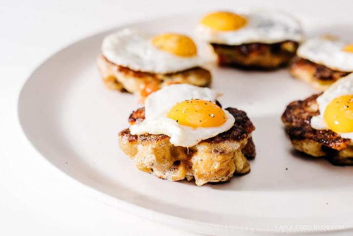 pasteles rellenos crujientes con huevos de codorniz - www.iamafoodblog.com